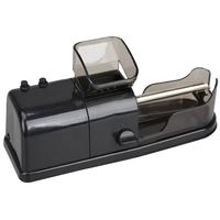 Black Electric Tobacco Roller Automatic Cigarette Rolling Machine Injector