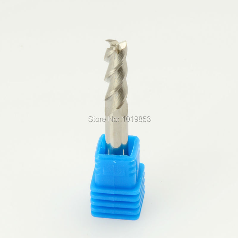 SLONS S200AL-5X5X75L 5mm shank diameter tungsten carbide end mill for Aluminum alloy  цены