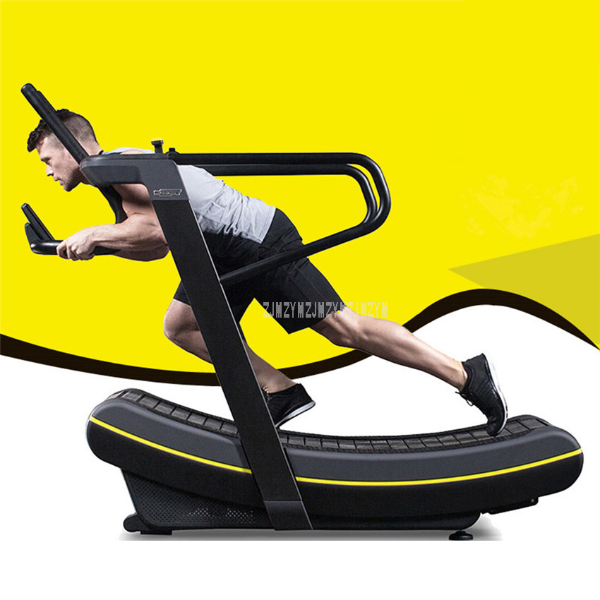 No-power Mechanical Curve Surface Walking Running Treadmill 1-8 Gear Resistance GYM Home Trainer Fitness Equipment M-A9025 ancheer fitness folding electric treadmill exercise equipment motorized treadmill gym home walking jogging running machine
