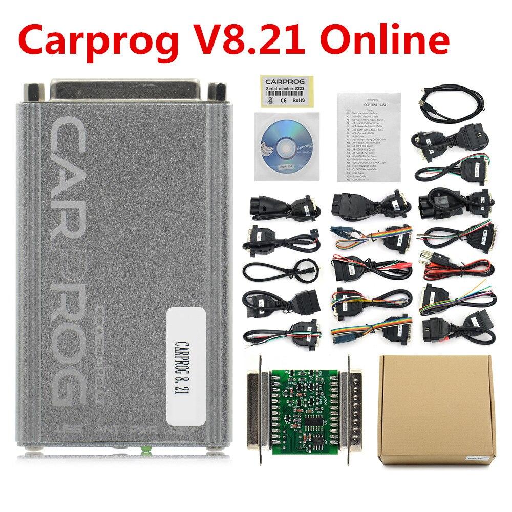 Image 5 - OBD OBD2 CARPROG Carprog V10.0.5/V8.21 Car Prog ECU Chip Tunning Car Repair Tool Carprog With All Adapters pk op com-in Code Readers & Scan Tools from Automobiles & Motorcycles