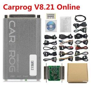 Image 5 - OBD OBD2  Carprog V10.0.5/V8.21 Car Prog ECU Chip Tunning Car Repair Tool Carprog With All Adapters pk iprog