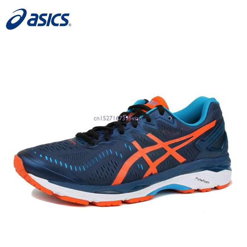 ASICS GEL-KAYANO 23 Asics 2019 nouvelle offre spéciale hommes coussin stabilité chaussures de course ASICS chaussures de sport baskets GQ Gym chaussures hommes