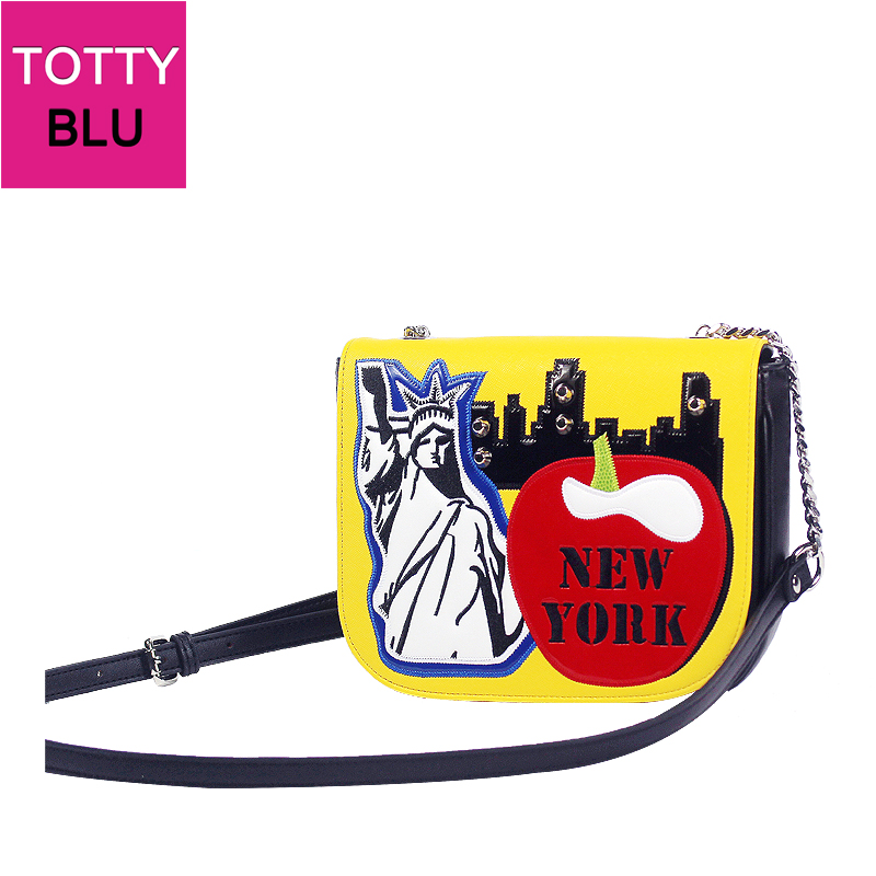 ФОТО 22x16CM   New York Liberty  Statue Shoulder Messenger Bags Handbags A2771