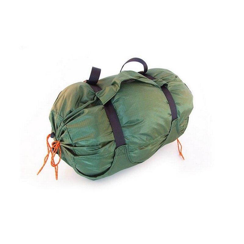 Sac de sport de plein air de grande capacité, sac imperméable de voyage de camping de natation de plage, sac commode multifonctionnel en nylon enduit