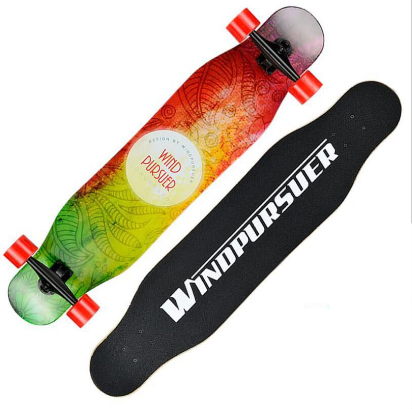 Image 3 - Professional Long board Dancing 107CM Highway Downhill Skateboard Freestyle Road Brush Street Skate Longboard-in Skate Board from Sports & Entertainment