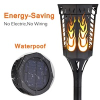 LED solar flickering light Waterproof LED Flame Torch Solar Powered Outdoor Garden Landscape Solar Torch Lamp Light