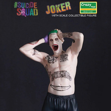 Crazy Toys 1:6 DC Suicide Squad Harley Quinn Joker Action Figure PVC Doll Anime Collectible Model Toys