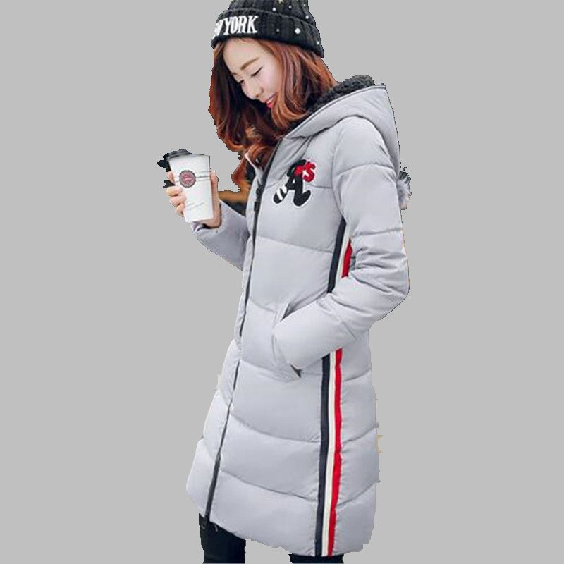 Elegant Slim Women Coat New Fashion Women Winter Down jacket Big yards Leisure Hooded Jacket Thick Warm Cotton Coat Women G2747 europe winter big yards women coat warm duck down down jacket elegant pure color casual thick hooded slim women short coat g0451