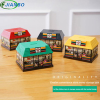 House Big Money Box Funny Coins Bank Birthday Gifts Candy Machine Storage Piggy Bank Convenient Store