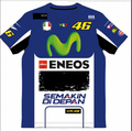 2016 Motorcycle casual T-shirt Valentino Rossi VR46 Champion models Moto GP TUTA Movistar M1 Racing T-shirt DUI