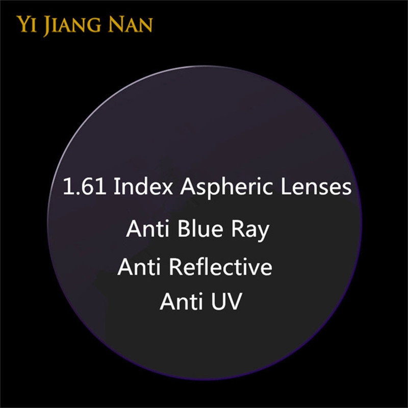 Yi Jiang Nan Brand 1.61 Index Thin Anti Reflection Miopía y Lectura - Accesorios para la ropa