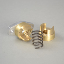 Brass anti-backlash ACME nut 1/2-10 ACME nut with mounting flange For DIY CNC Machine 3D printer
