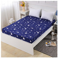 LAGMTA 1 pc 100% Polyester Sheet Mattress Cover Bed Sheet Printing Fitted Sheet Four Corners With Elastic