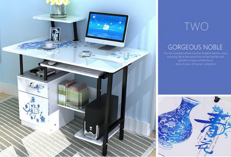 250326/Fold lazy/simple/study desk/Non slip sponge foot/Thickened ...