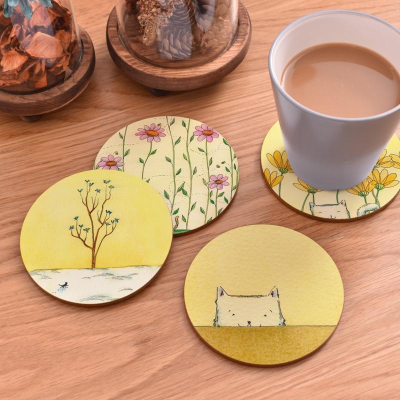 Картинки для подставки чашки