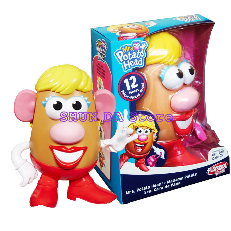 2018 New Edition Toy Story Mr Mrs Potato Head Pvc Action Figures