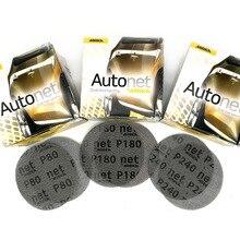2-50Pcs Mesh Abrasive Dust Free Sanding Discs 5 Inch 125mm Anti-blocking Dry Grinding Sandpaper 80 to 240 Grit