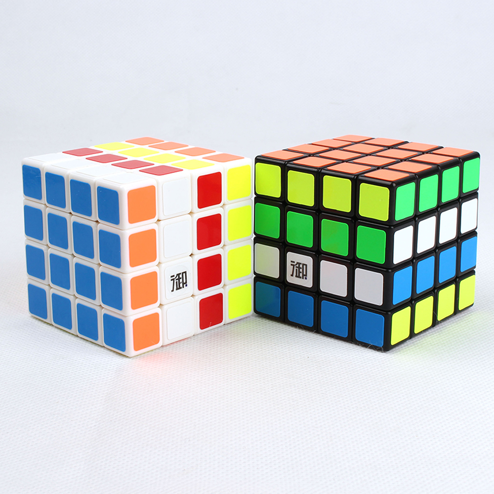 4 Layers 4*4*4 Speed YuMo's Magic Cubes Kids Educational Games and Puzzles Cube 4x4x4 Toy for Chidlren