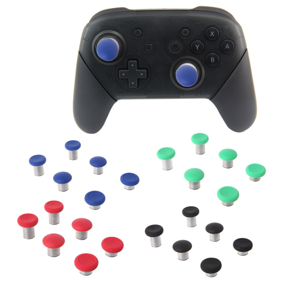6Pcs/Set Swap Thumb Analog Sticks Grips Stick D-Pad Bumper Trigger Button Screw Driver Gamepad Replacement For Xbox One Elite Wi