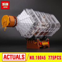 Lepin 16045 Genuine 775pcs Creative Series The Ship In The Bottle Set Building Blocks Bricks Educational