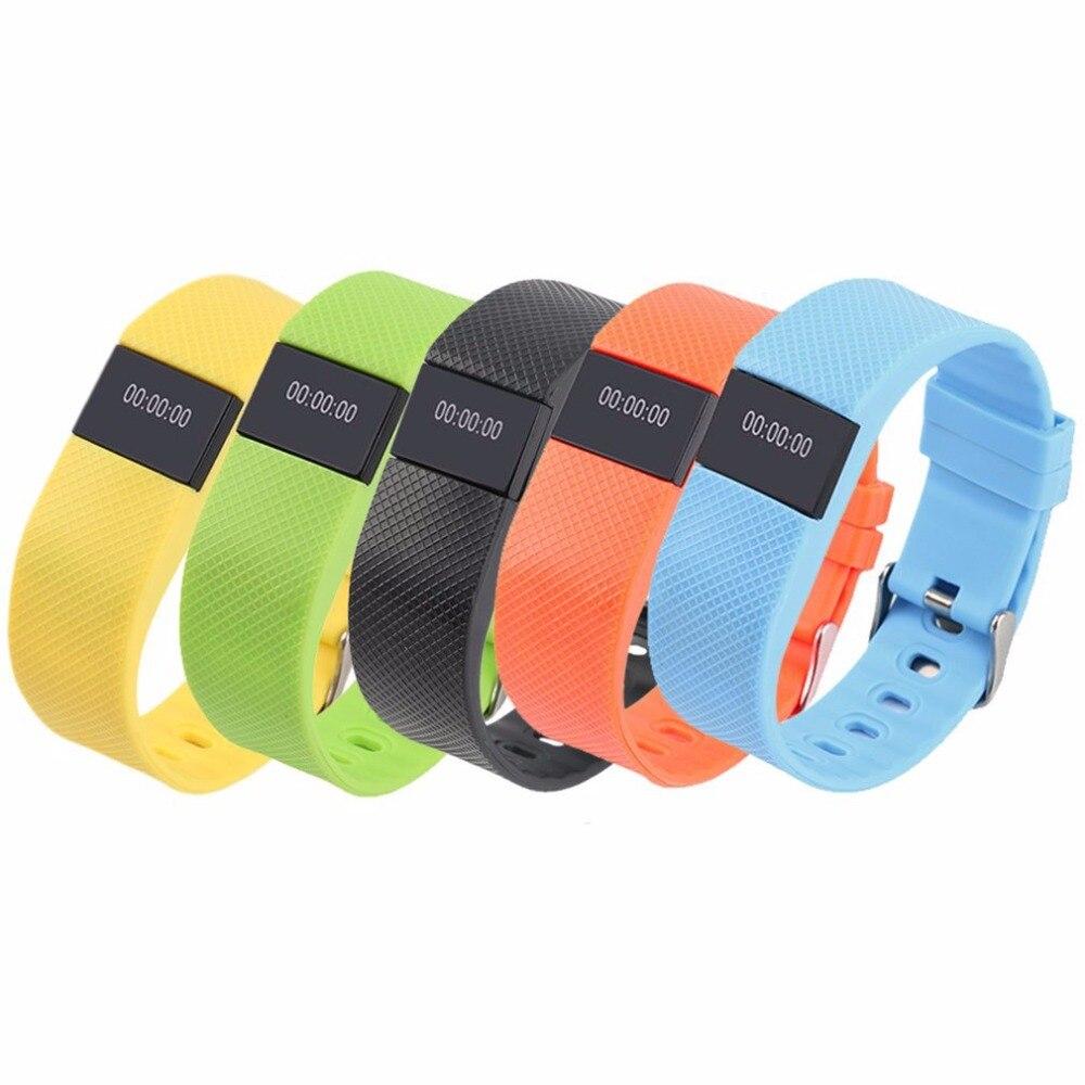TW64S Smart Band Heart Rate Monitor Inteligente Pulso Sport Intelligent Bracelet Pedometer Fitness Tracker Wristband PK Miband