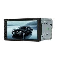 מסך 7 Inch זוגי דין רכב רדיו CD/DVD עבור גולף v BMW e46 אופל אסטרה h פולקסווגן החומה הגדולה רחף h5