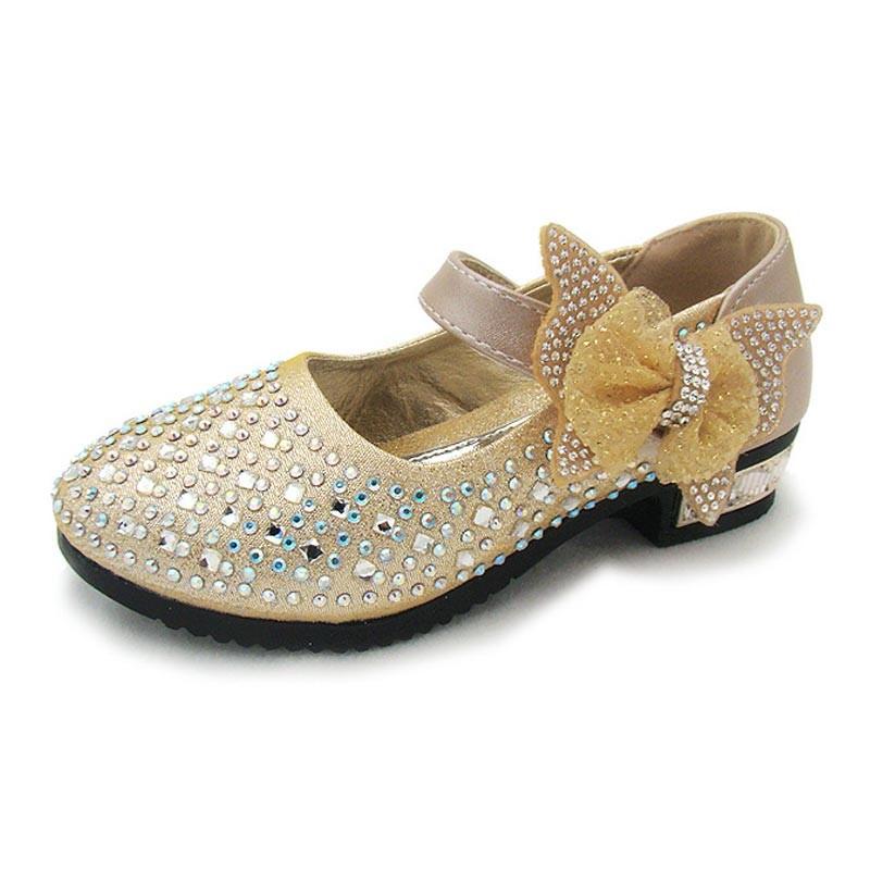 428b538eaa3f8 New Princess Children Princess Sandals Kids Girls Wedding Shoes Dress Shoes  Girls Party Shoes pink 26