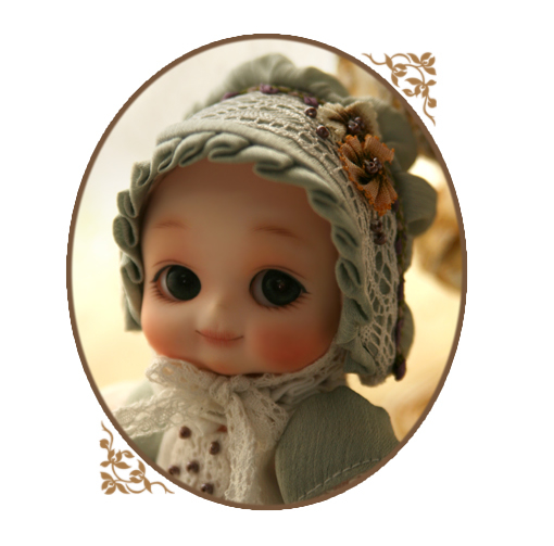 Flash sale!free shipping Free makeup&eyes included! Top quality 1/8 bjd baby doll Soom Nappy Choo limited edition 12cm cute real