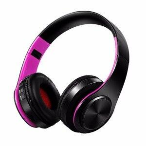 Image 5 - Nuovo auricolare stereo bluetooth auricolare cuffia wireless mani libere bluetooth universale per tutto il telefono per il iphone con il microfono