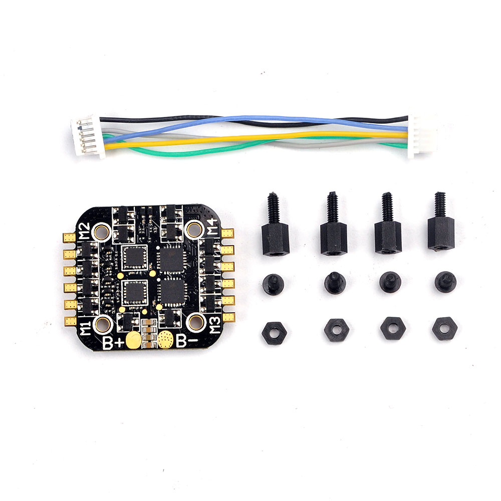 все цены на Super_s BS06D 4 In 1 6A BLHeli_S ESC Support DSHOT 2S LiPo for RC Drone DIY Quadcopter Accessories F21184
