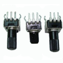 20 шт. регулируемый резистор 1K 2K 5k 10K 20K 50K 100K 200k 500k 1 м ручка 7 мм/12 мм RV09 вертикальный регулируемый потенциометр