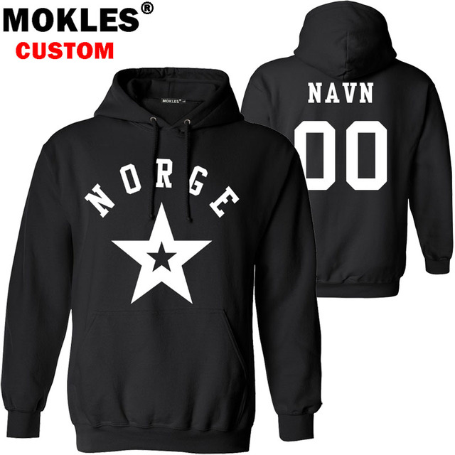 Aliexpress com : Buy NORWAY pullover logo custom name number pure black  winter no Jersey keep warm nor flag norge norwegian kingdom country 0  clothes