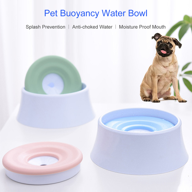 1200ml pet cat dog water bowl floa