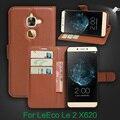 Letv leeco le 2x620 flip case cubierta de la carpeta del estilo de la pu leather case soporte función de espera de la tarjeta de casos de cuero para leeco le2