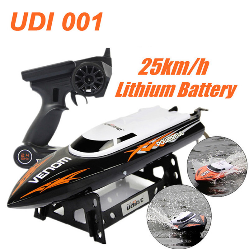 UDI001 RC Boat Bateau One Propeller Remote Control Boats Remote Control Toys 2.4GHz 4CH Water Cooling High Speed RC Speed FSWB купить недорого в Москве