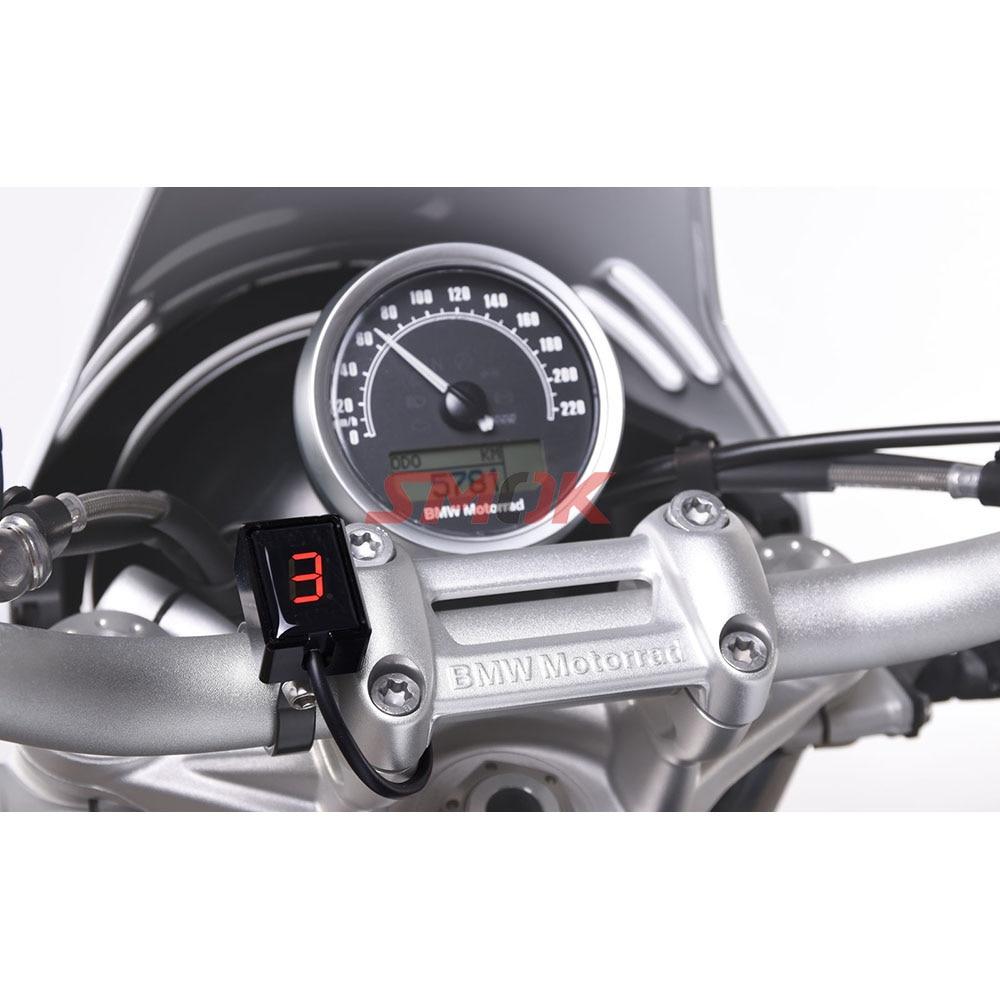 SMOK Motorcycle Ecu Direct Mount 1 6 Speed Gear Display Indicator For Kawasaki Z300 ER6N Z1000SX Ninja 300 Z1000 Z800 Z750 in Instruments from Automobiles Motorcycles