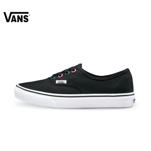 6b076651da Original Vans New Arrival Black and Purple Low-Top Women s Skateboarding  Shoes Sport Shoes Canvas Shoes Sneakers free shipping