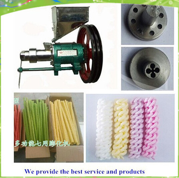 цены puffed rice snacks extruder machine with 7 molds free shipping