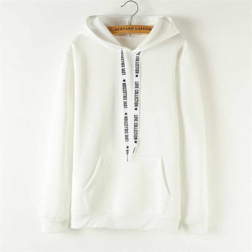 Eropa dan Amerika Rusia Ledakan Bertudung Sweatshirt Wanita Plus Beludru  Mengentalkan Hoodie Atasan Wanita 2018 Seksi dd4f5de0e8