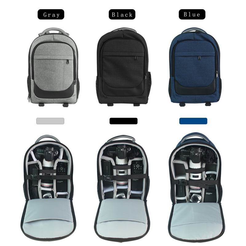 Waterproof Multi-functional Digital DSLR Camera Bag For Canon Nikon Sony Olympus Camera Backpack Photographer Bags Cover jkbw new arrival 44 x 30 x 19cm camare bags waterproof multi functional backpack soft video camera bag for photographer
