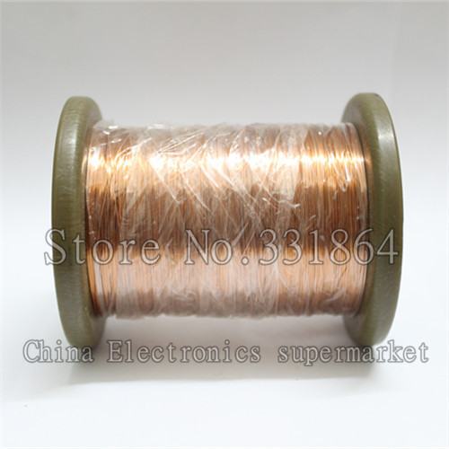 Free Shipping 0.3 mm enameled wire QA-1-155 new polyurethane enamelled round copper winding wire  1000m free shipping 0 35mm 600m pcs qa 1 130 polyurethane enameled wire copper wire