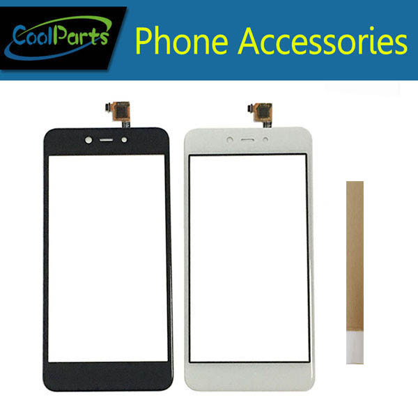 1PC/Lot 5.2''For BQ BQ-5211 BQ5211 Strike 2018 BQS 5211 BQS-5211 Touch Screen Digitizer Lens Glass White Black Color With Tape