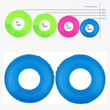 High Quality Inflatable Swimming Ring Pool Float Water Toys Fluorescence Mattress For Kids Adults Beach Sea Party NCM99