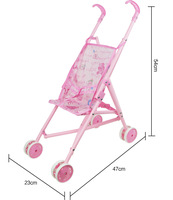 Metal trolley Doll Accessories Wear fit for 43cm/17inch Baby Doll