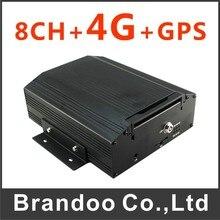 4G 8 CHANNEL Mobile DVR support bandTD-LTET AND FDD-LTE