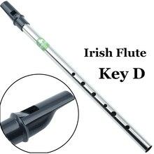 Ирландский оловянный свисток флейта вертикальный Flauta Металлический Мини карманный музыкальный инструмент Tinwhistle Западный Пенни свисток 6 открытое отверстие D ключ