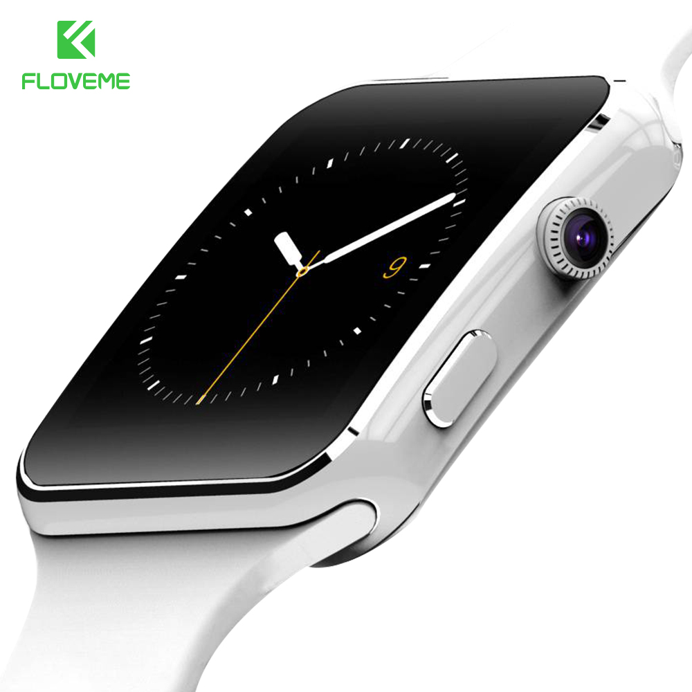 FLOVEME Fashion Sport Bluetooth Smart Watch For Android Phone Call SIM Card Intelligent Watches 1 54