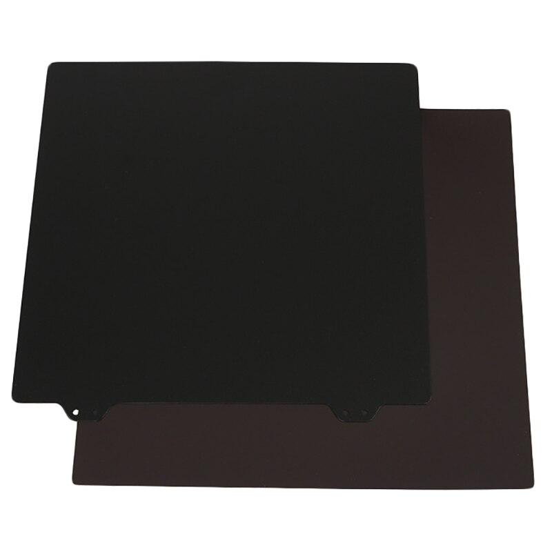 Imprimante 3D Hot Bed accessoires 235 autocollants magnétiques côté B + Double couche Texture Pei poudre plaque d'acier pour Ender-3/3 S/3Pro