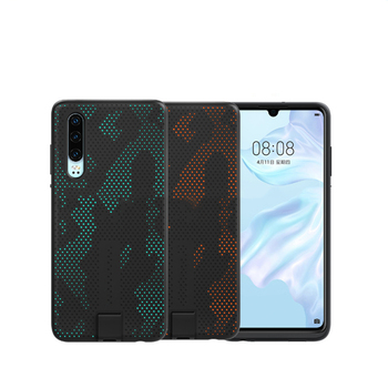 10W Original Wireless Charging Case for Huawei P30 Protective Case Magnetic Back Cover Supports Car Mount