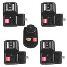 Беспроводной триггер вспышки+ 4 приемника PT-16NE 16 каналов с держателем зонта для Yongnuo Canon Nikon Pentax за исключением камеры sony